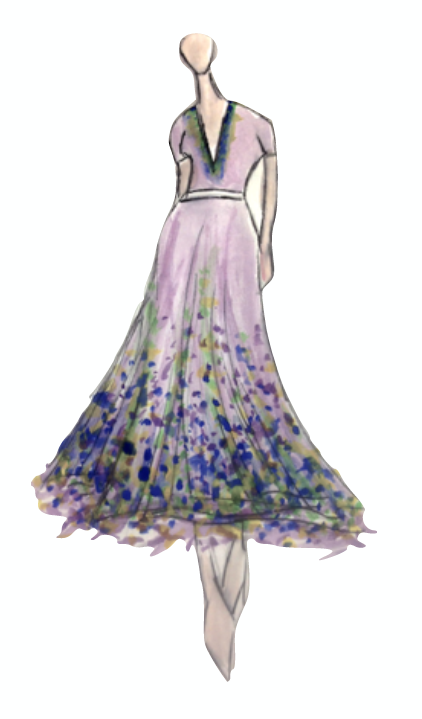 Arlene Phillips Living Dress