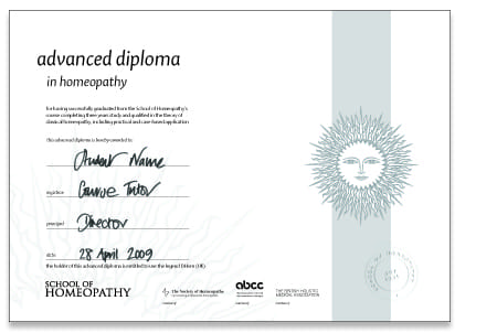 Higher Diploma Part 1 Course Certificate