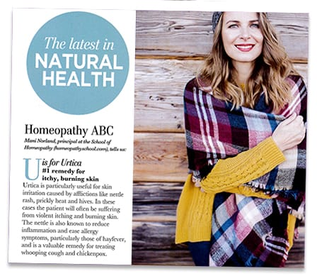 A-Z Homeopathy in Natural Health