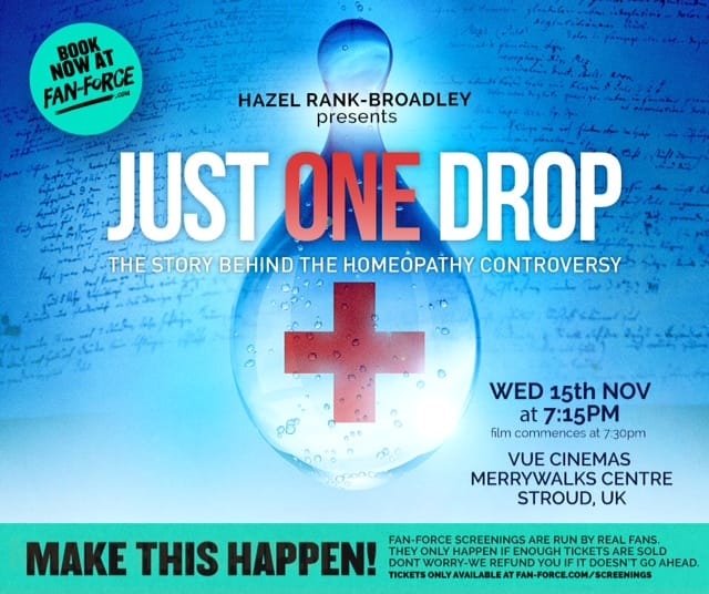 Just One Drop homeopathy movie in stroud