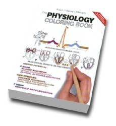 Physiology Colouring Book