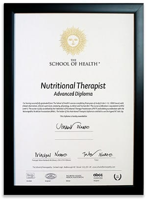 Nutrition Therapist Advanced