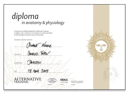 Anatomy & Physiology Course - Certification