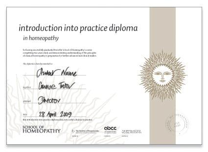 Intro into Practice Course Certificate