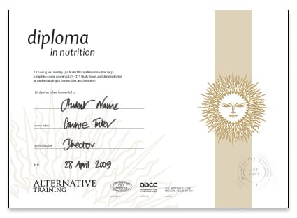 Nutrition Therapist Diploma