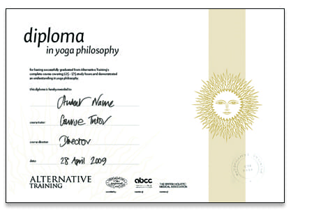 Diploma in Yoga Philosophy