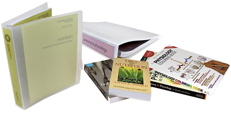Nutrition Therapist Course and books