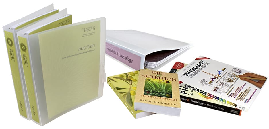 Nutritional Therapist Course and books
