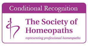 Society of Homeopaths Recognised