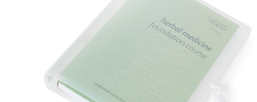 Herbal Medicine<br>Foundation Course