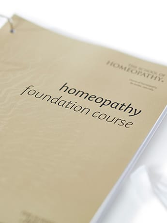 Homeopathy Foundation Course cover