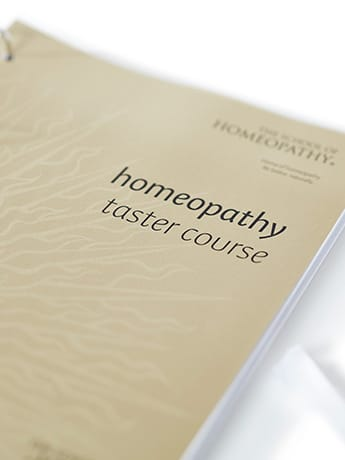 Homeopath Taster Course cover