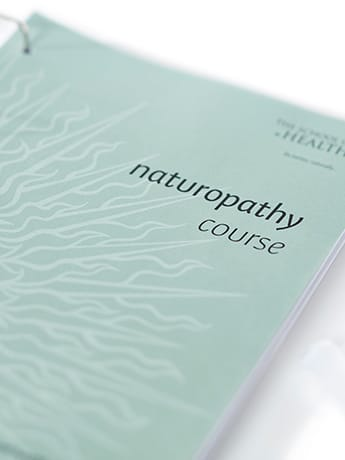 Naturopathy course cover