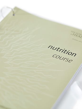 Nutrition course cover