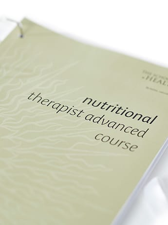 Nutritional Therapist Adv Cover