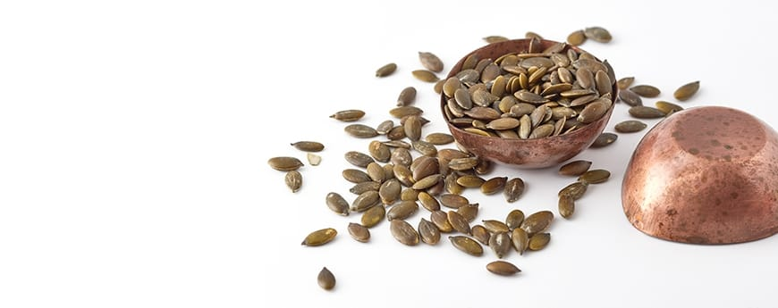 Nutrition, pumpkin seeds