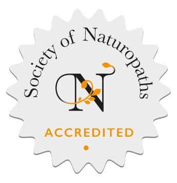 Society of Naturopaths accredited