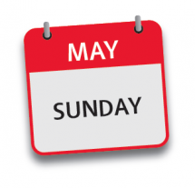 May Guest 1 day Sunday