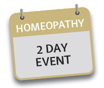 2 Day Intro to Homeopathy 26th & 27th July 2017