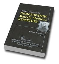 Homeopathic Materia Medica and Repertory - LAST FEW REMAINING