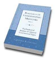 Portraits of Homeopathic Medicines Vol.1